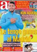 Portada diario AS del 20 de Noviembre de 2012