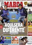 Portada diario Marca del 20 de Noviembre de 2012