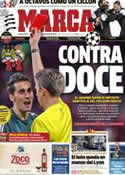 Portada diario Marca del 22 de Noviembre de 2012