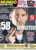 Portada Mundo Deportivo del 22 de Noviembre de 2012