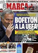 Portada diario Marca del 23 de Noviembre de 2012