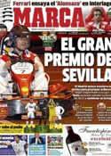 Portada diario Marca del 24 de Noviembre de 2012