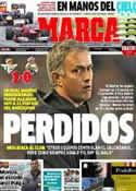 Portada diario Marca del 25 de Noviembre de 2012