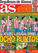 Portada diario AS del 26 de Noviembre de 2012