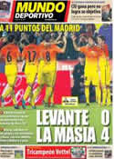 Portada Mundo Deportivo del 26 de Noviembre de 2012