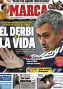 Portada diario Marca del 27 de Noviembre de 2012