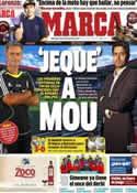 Portada diario Marca del 28 de Noviembre de 2012