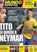 Portada Mundo Deportivo del 28 de Noviembre de 2012