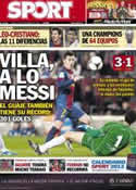 Portada diario Sport del 29 de Noviembre de 2012