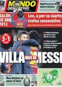 Portada Mundo Deportivo del 29 de Noviembre de 2012