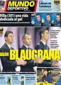 Portada Mundo Deportivo del 30 de Noviembre de 2012