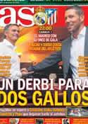 Portada diario AS del 1 de Diciembre de 2012