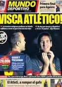 Portada Mundo Deportivo del 1 de Diciembre de 2012