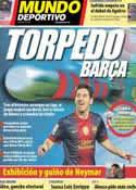 Portada Mundo Deportivo del 3 de Diciembre de 2012