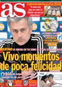 Portada diario AS del 4 de Diciembre de 2012