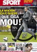 Portada diario Sport del 4 de Diciembre de 2012