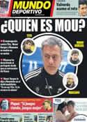 Portada Mundo Deportivo del 4 de Diciembre de 2012