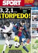 Portada diario Sport del 5 de Diciembre de 2012