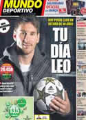 Portada Mundo Deportivo del 5 de Diciembre de 2012
