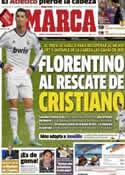 Portada diario Marca del 7 de Diciembre de 2012