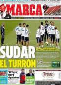 Portada diario Marca del 8 de Diciembre de 2012