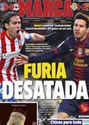 Portada diario Marca del 10 de Diciembre de 2012