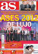 Portada diario AS del 11 de Diciembre de 2012