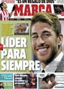 Portada diario Marca del 11 de Diciembre de 2012