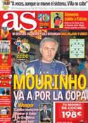 Portada diario AS del 12 de Diciembre de 2012