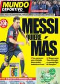 Portada Mundo Deportivo del 12 de Diciembre de 2012