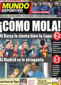 Portada Mundo Deportivo del 13 de Diciembre de 2012