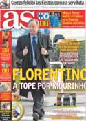 Portada diario AS del 14 de Diciembre de 2012