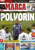 Portada diario Marca del 14 de Diciembre de 2012