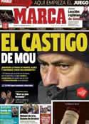 Portada diario Marca del 15 de Diciembre de 2012