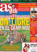 Portada diario AS del 16 de Diciembre de 2012