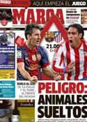 Portada diario Marca del 16 de Diciembre de 2012
