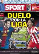 Portada diario Sport del 16 de Diciembre de 2012