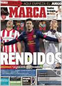 Portada diario Marca del 17 de Diciembre de 2012