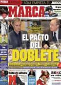 Portada diario Marca del 18 de Diciembre de 2012