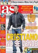 Portada diario AS del 19 de Diciembre de 2012