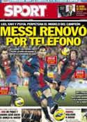 Portada diario Sport del 19 de Diciembre de 2012