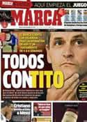Portada diario Marca del 20 de Diciembre de 2012