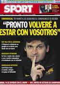 Portada diario Sport del 20 de Diciembre de 2012