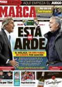 Portada diario Marca del 22 de Diciembre de 2012