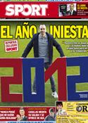 Portada diario Sport del 26 de Diciembre de 2012