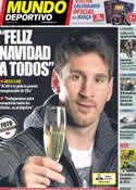 Portada Mundo Deportivo del 26 de Diciembre de 2012