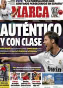 Portada diario Marca del 27 de Diciembre de 2012