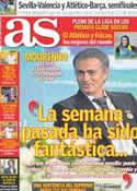 Portada diario AS del 29 de Diciembre de 2012