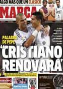 Portada diario Marca del 30 de Diciembre de 2012