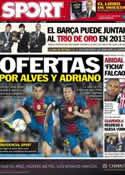 Portada diario Sport del 30 de Diciembre de 2012